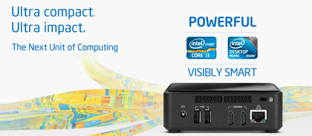 The Next Unit of Computing (NUC)